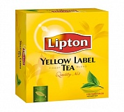 Чай LIPTON Yellow Label Tea черный,в пакетиках