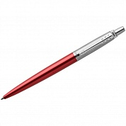 "Ручка шариковая Parker ""Jotter Kensington Red CT"", синяя, 1,0 мм., подар. уп. 1953187"