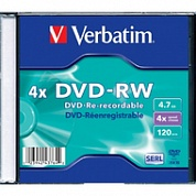 Диск  DVD-R 4.7Gb 16x Verbatim Extra Protection 10 штук