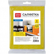 Салфетки для уборки OfficeClean, вискоза, 30х38 см. 3 шт. 252717/ГР