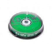 Диск CD-RW Data Standard 4X-12X 700Mb (BOX 10 штук)